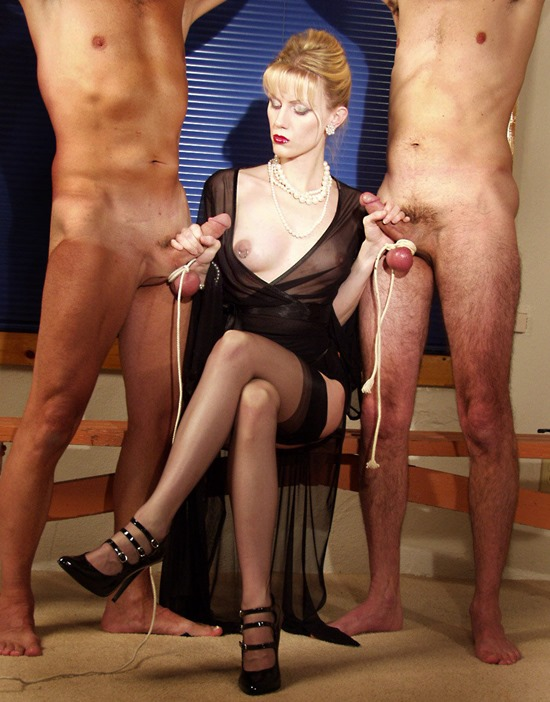 two males slave